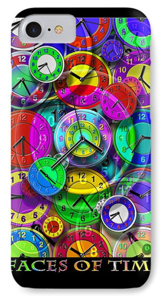 Faces Of Time 1 IPhone Case by Mike McGlothlen