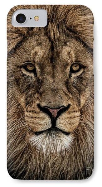 Facing Courage IPhone Case by Brad Allen Fine Art