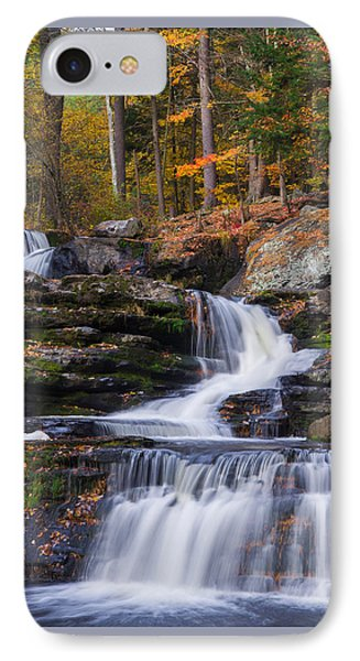 IPhone Case featuring the photograph Factory Falls 2 by Mark Papke