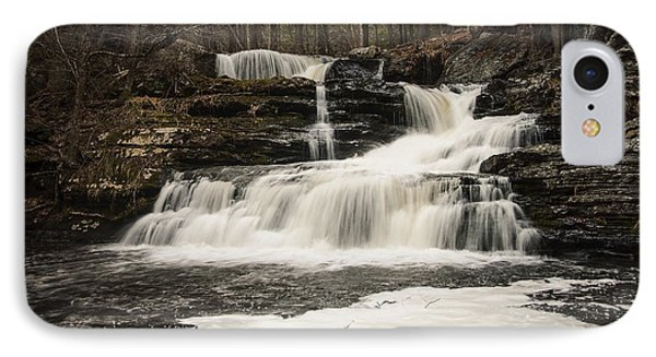 Factory Falls IPhone Case by Debra Fedchin