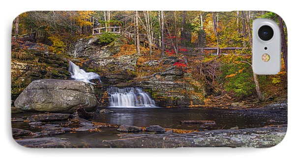 IPhone Case featuring the photograph Factory Falls by Mark Papke