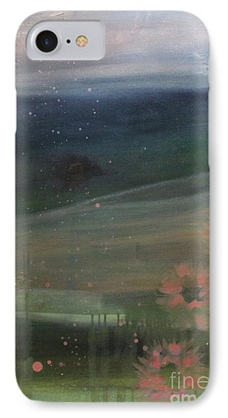 IPhone Case featuring the painting Faded Days Gone By by Robin Maria Pedrero