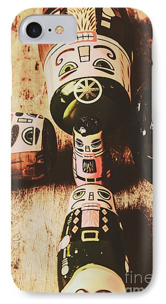 Faded Old Toys From A Vintage Past IPhone Case by Jorgo Photography - Wall Art Gallery