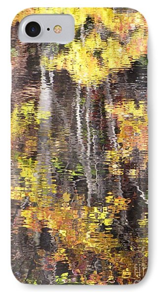 Fading Fall Water IPhone Case