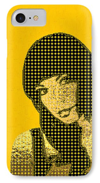 Fading Memories - The Golden Days No.3 IPhone Case by Serge Averbukh