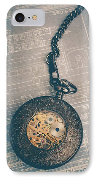 IPhone Case featuring the photograph Fading Time by Edward Fielding