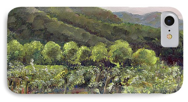 Fainting Goat Valley - Vineyards -  Jasper, Ga IPhone Case
