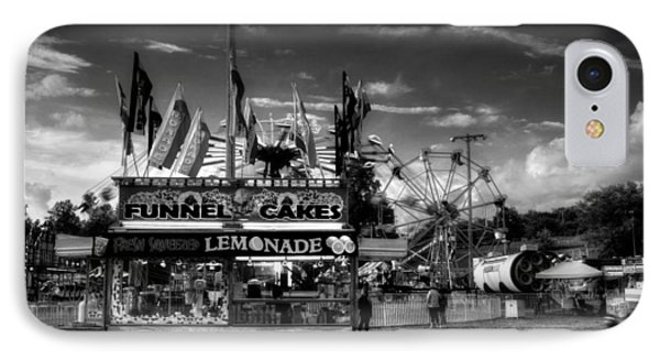 Fair Food In Black And White IPhone Case