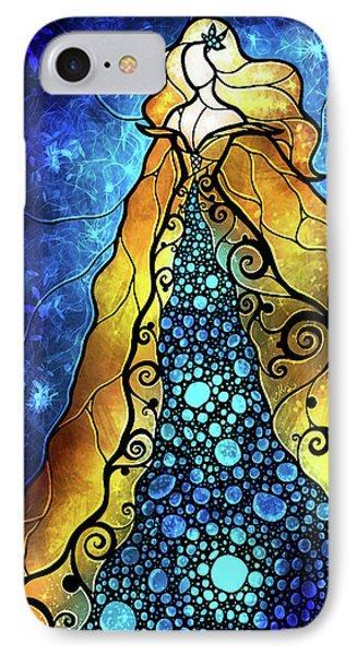 Fair Ophelia Phone Case by Mandie Manzano