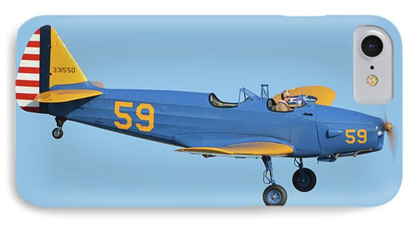 Fairchild Pt-19a N11cm Chino California April 29 2016 Phone Case by Brian Lockett