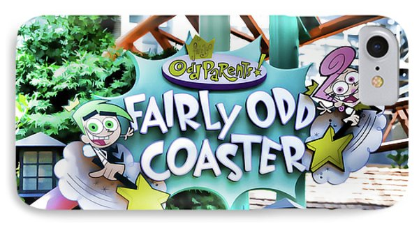 Fairly Odd Coaster IPhone Case by Lanjee Chee