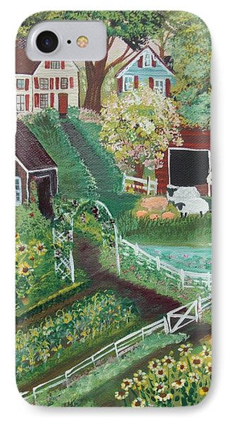 Fairview Farm IPhone Case by Virginia Coyle