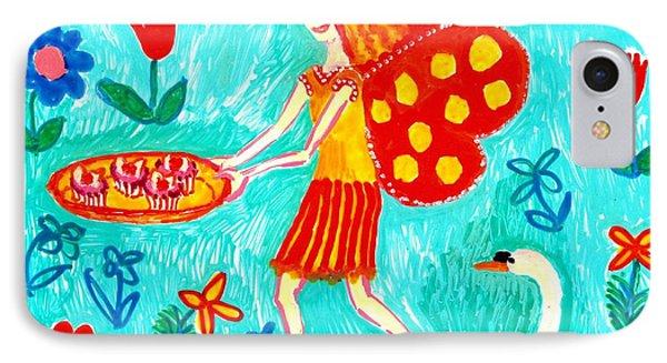 Fairy Cakes Phone Case by Sushila Burgess