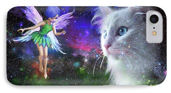 Fairy Encounters Cat  IPhone Case