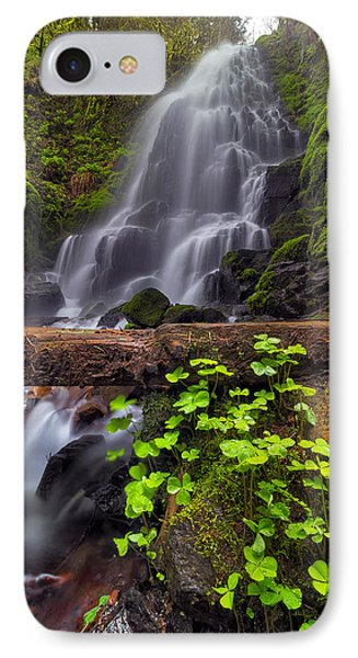 Fairy Falls In Spring Phone Case by David Gn