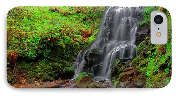 Fairy Falls Oregon IPhone Case by Jonathan Davison