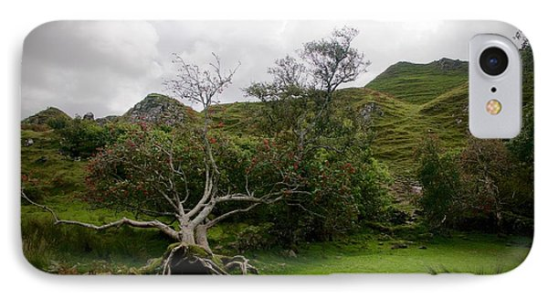 Fairy Glen Scotland IPhone Case by Louise Fahy