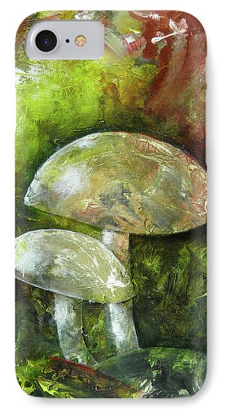 Fairy Kingdom Toadstool IPhone Case by Terry Honstead