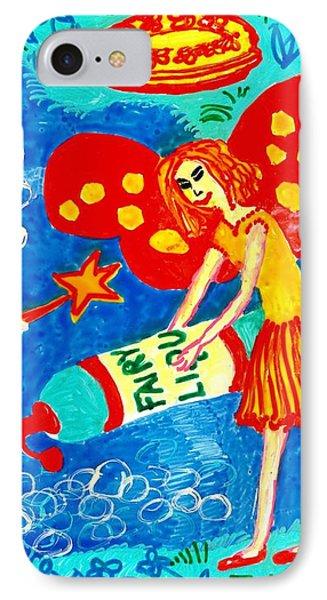 Fairy Liquid Phone Case by Sushila Burgess