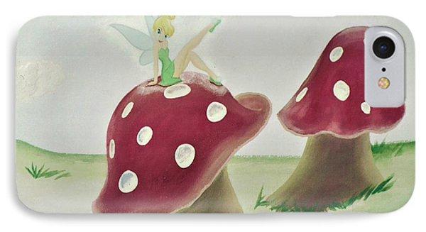 Fairy On Mushroom Trees IPhone Case