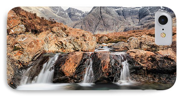 IPhone Case featuring the photograph Fairy Pools by Grant Glendinning