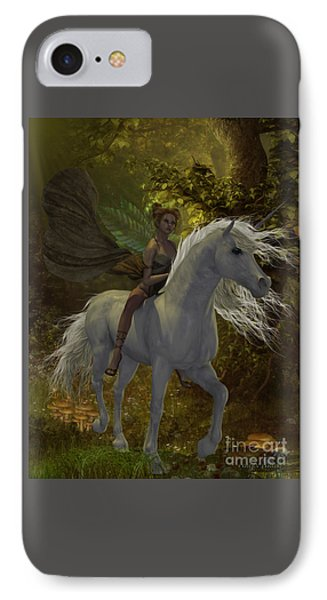 Fairy Rides Unicorn IPhone Case