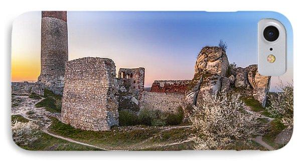 Fairy Tale Castle Remnants IPhone Case by Julis Simo