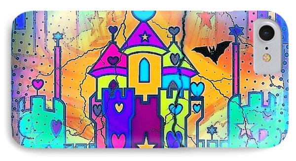 IPhone Case featuring the digital art Fairyland By Nico Bielow by Nico Bielow