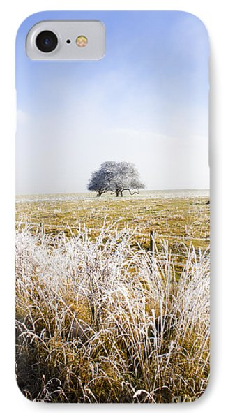 Fairytale Winter In Fingal IPhone Case by Jorgo Photography - Wall Art Gallery