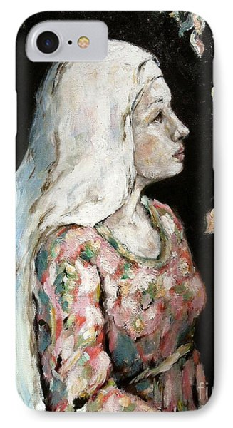 Faith IPhone Case by Carrie Joy Byrnes