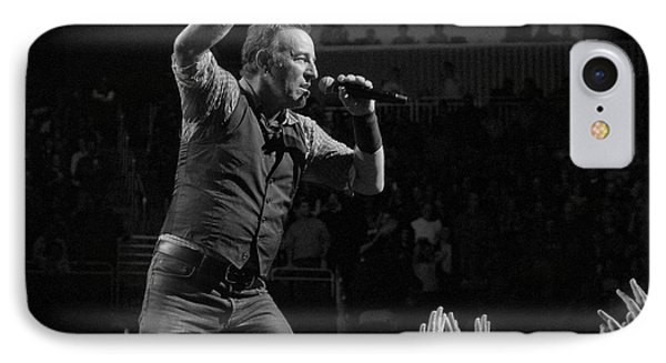 Bruce Springsteen iPhone 7 Case - Faith Will Be Rewarded by Jeff Ross