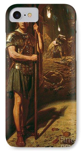 Faithful Unto Death Phone Case by Sir Edward John Poynter