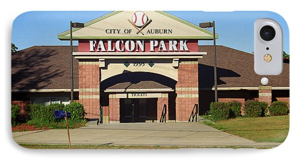 Falcon Park - Auburn Doubledays IPhone Case by Frank Romeo