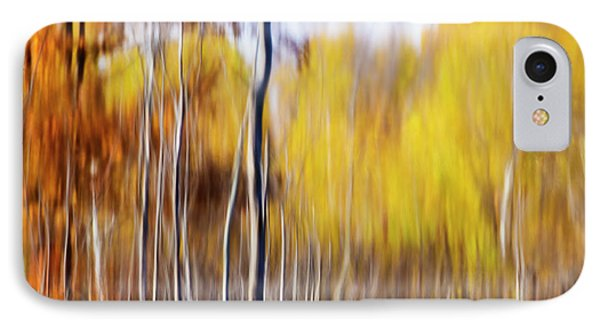 IPhone Case featuring the photograph Fall Abstract by Mircea Costina Photography