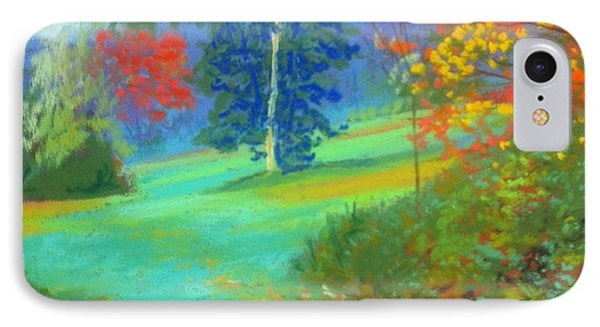 Fall Across The Field  IPhone Case by Rae  Smith PAC