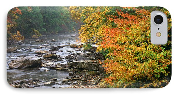 Fall Along The Cranberry River Phone Case by Thomas R Fletcher