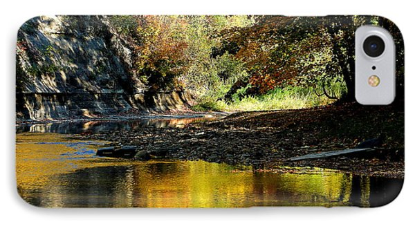 IPhone Case featuring the photograph Fall At Big Creek by Bruce Patrick Smith