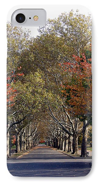 Fall At Corona Park IPhone Case by Suhas Tavkar