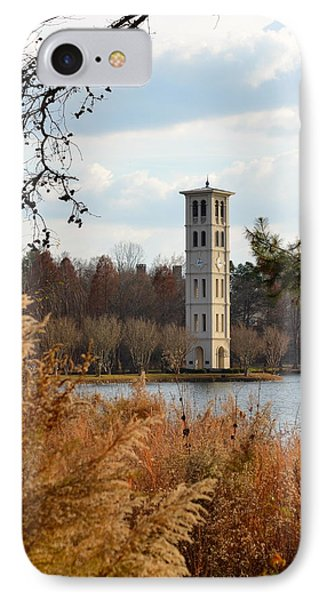 Fall At Furman Phone Case by Corinne Rhode