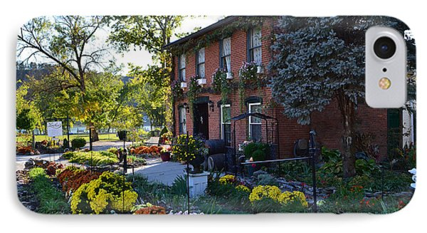 Fall At Lanier Winery In Madison  IPhone Case