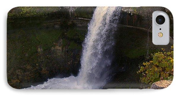 Fall At Minnehaha Falls Phone Case by Tom Reynen