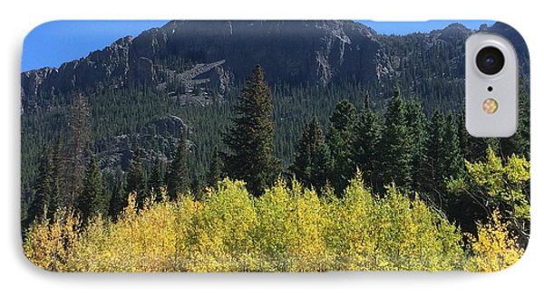 Fall At Twin Sisters IPhone Case