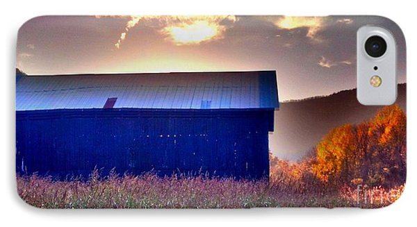 IPhone Case featuring the photograph Fall Barn by Janice Spivey
