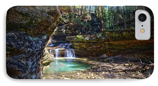 Fall Below Old Mans Cave IPhone Case