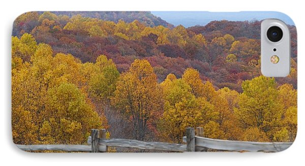 Fall Blend IPhone Case by Eric Liller
