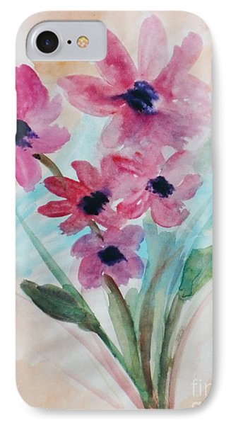IPhone Case featuring the digital art Fall Bunch by Trilby Cole