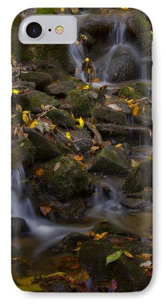 IPhone Case featuring the photograph Fall Cascades by Ellen Heaverlo