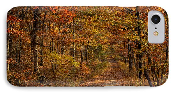 IPhone Case featuring the photograph Fall Color At Centerpoint Trailhead by Michael Dougherty