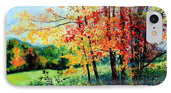 Fall Color Phone Case by Hanne Lore Koehler
