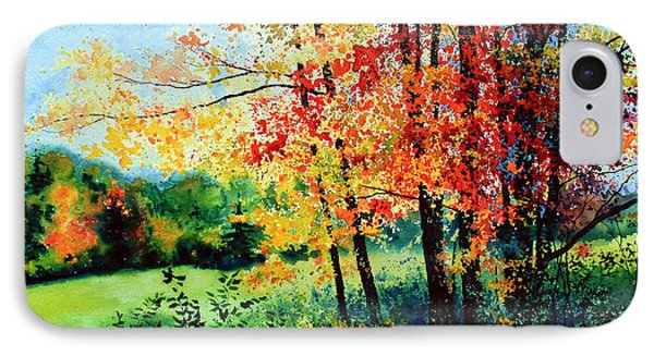 Fall Color IPhone Case by Hanne Lore Koehler